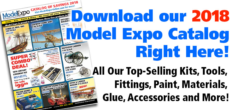 Model Expo is one of the most important producers and dealers of wood model kits. There are only two real American competitors in the wood sailing ship genre: Model Shipways (which is owned by Model Expo) and Bluejacket.