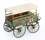 GUNS OF HISTORY CIVIL WAR RUCKER AMBULANCE 1:16 SCALE