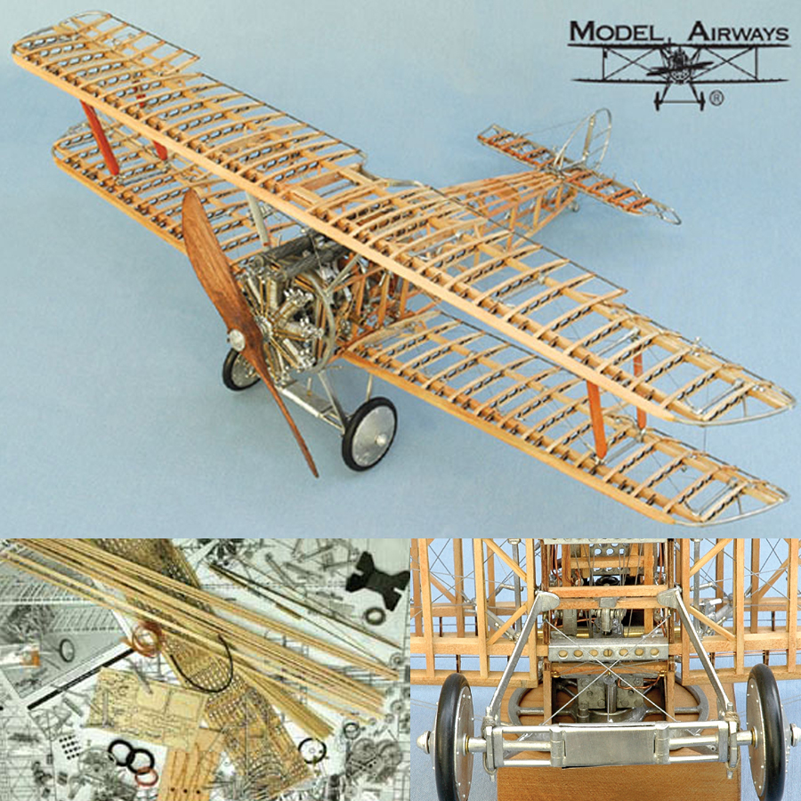 Model Airways Sopwith Camel Ww1 Plane 1 16 Scale