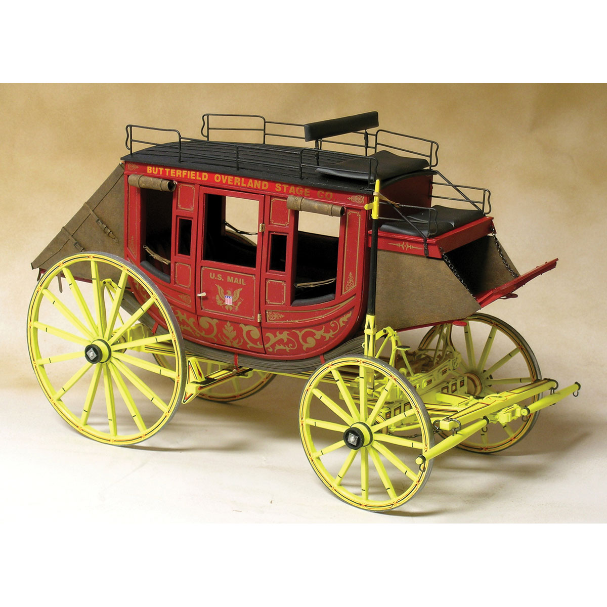 MODEL TRAILWAYS CONCORD STAGECOACH 1:12 SCALE