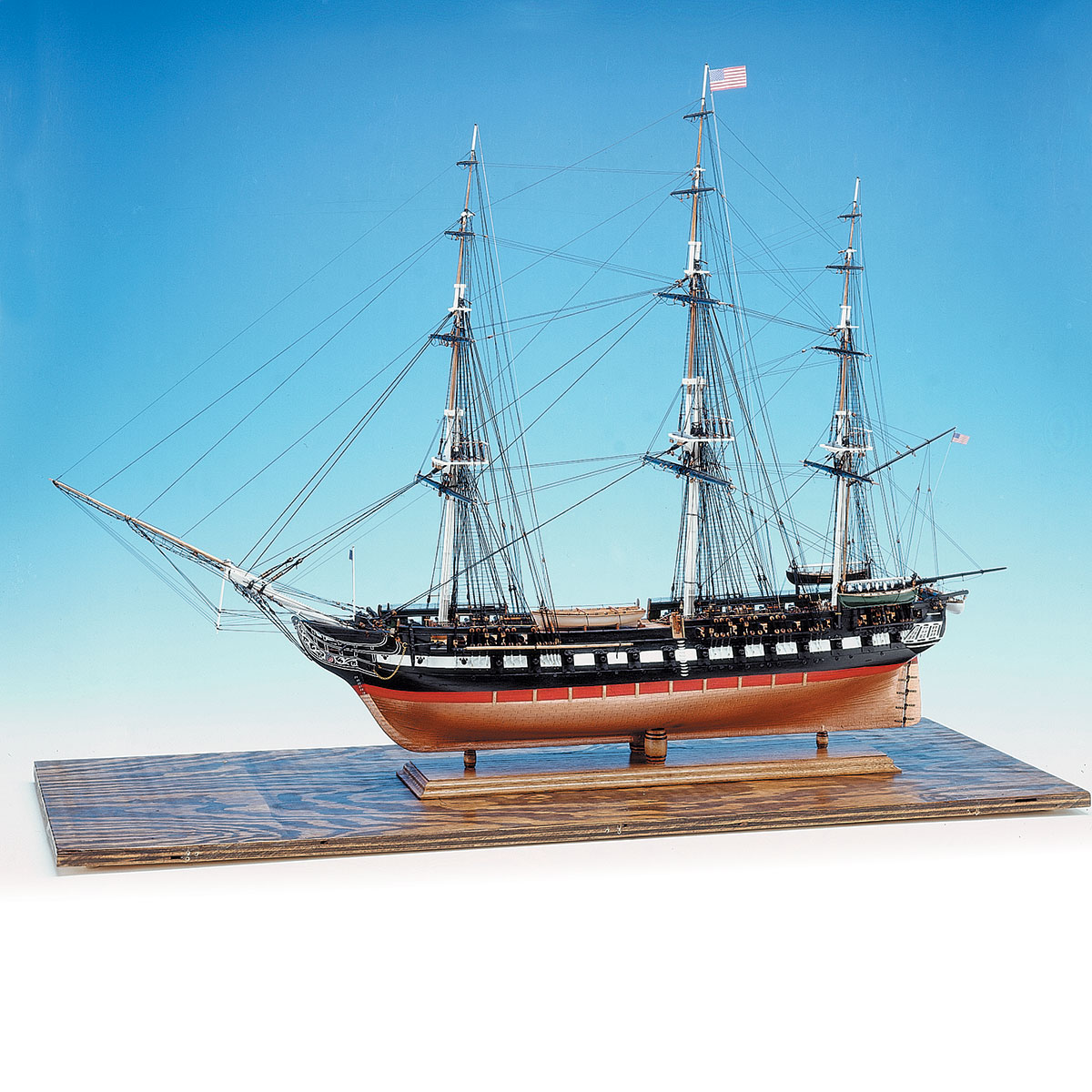 "Model Expo USS CONSTITUTION 48"" LONG 1:76 SCALEUss Constitution Pictures"