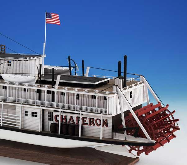 Model Expo Chaperon Sternwheel1 48 Scale