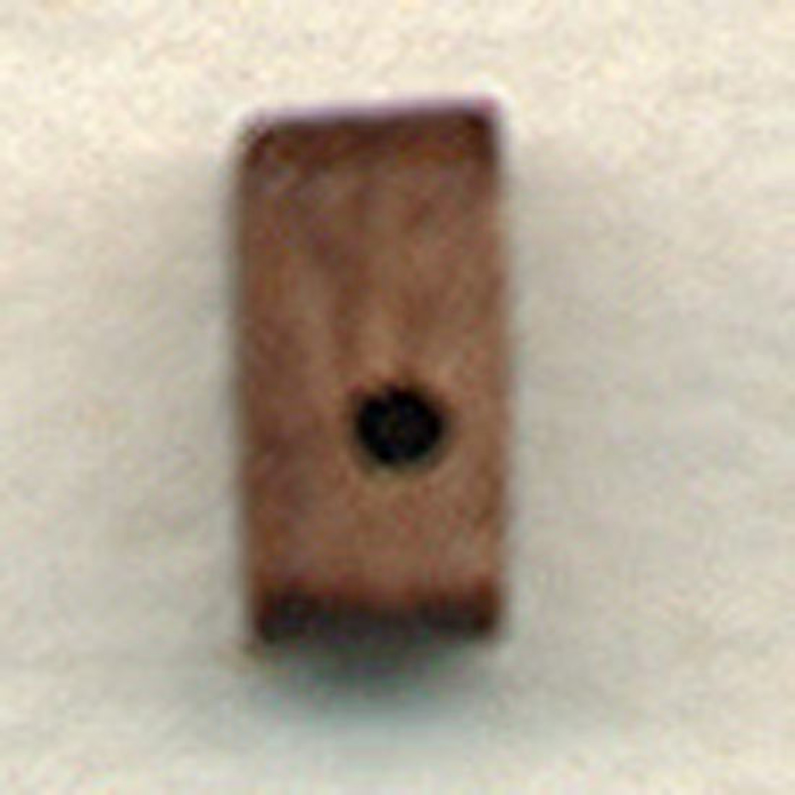 BLOCK,SNGL,WALNUT 1/8  (3MM)