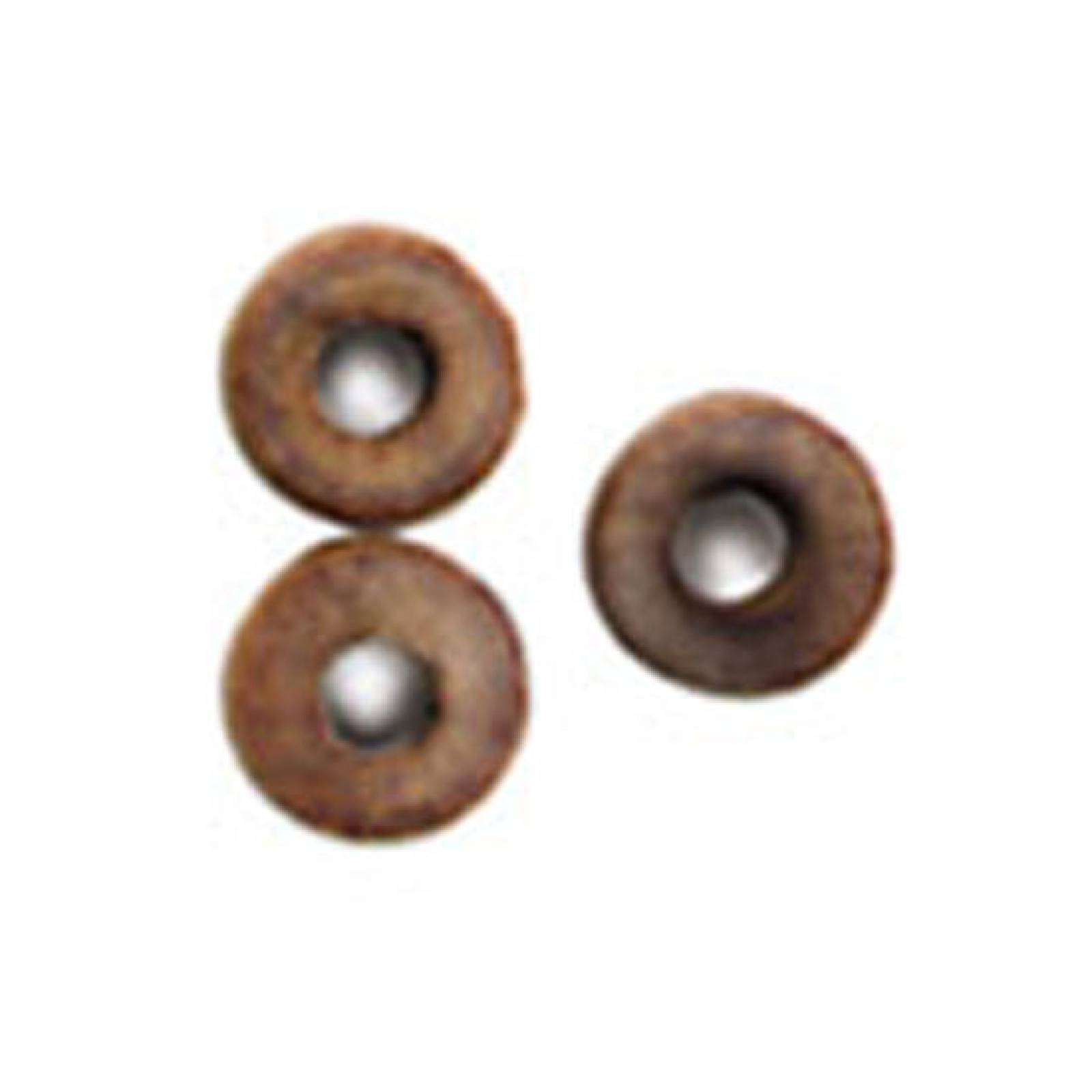 TRUCKS, WOOD CANNON WHEELS 3/16  (5MM) 1 5MM