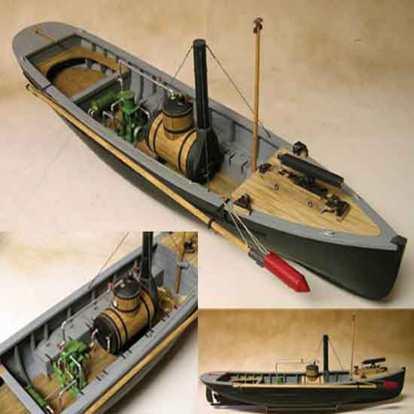 Model Expo USN PICKET BOAT #1       1:24 SCALE
