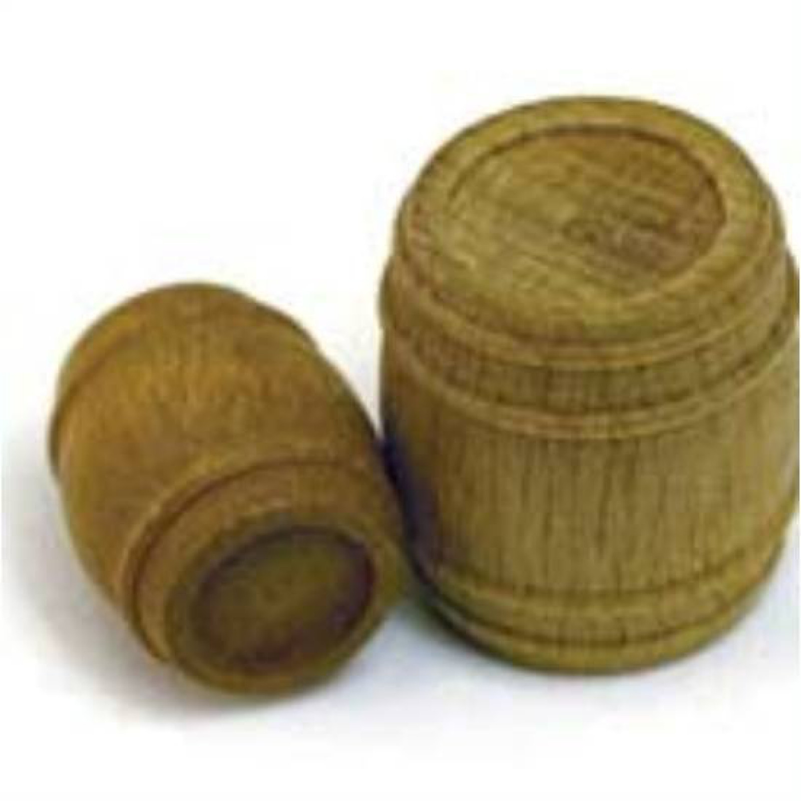 PRE-CARVED WALNUT BARRELS 21x30MM 4PCS.