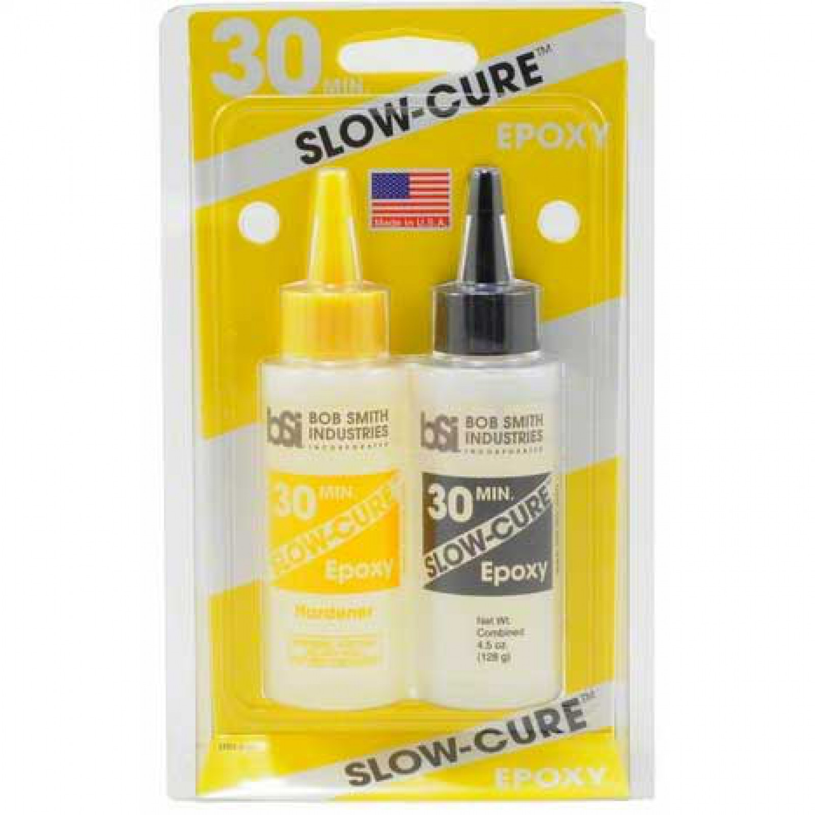 SLOW-CURE 30-MINUTE EPOXY, 4.5 OZ