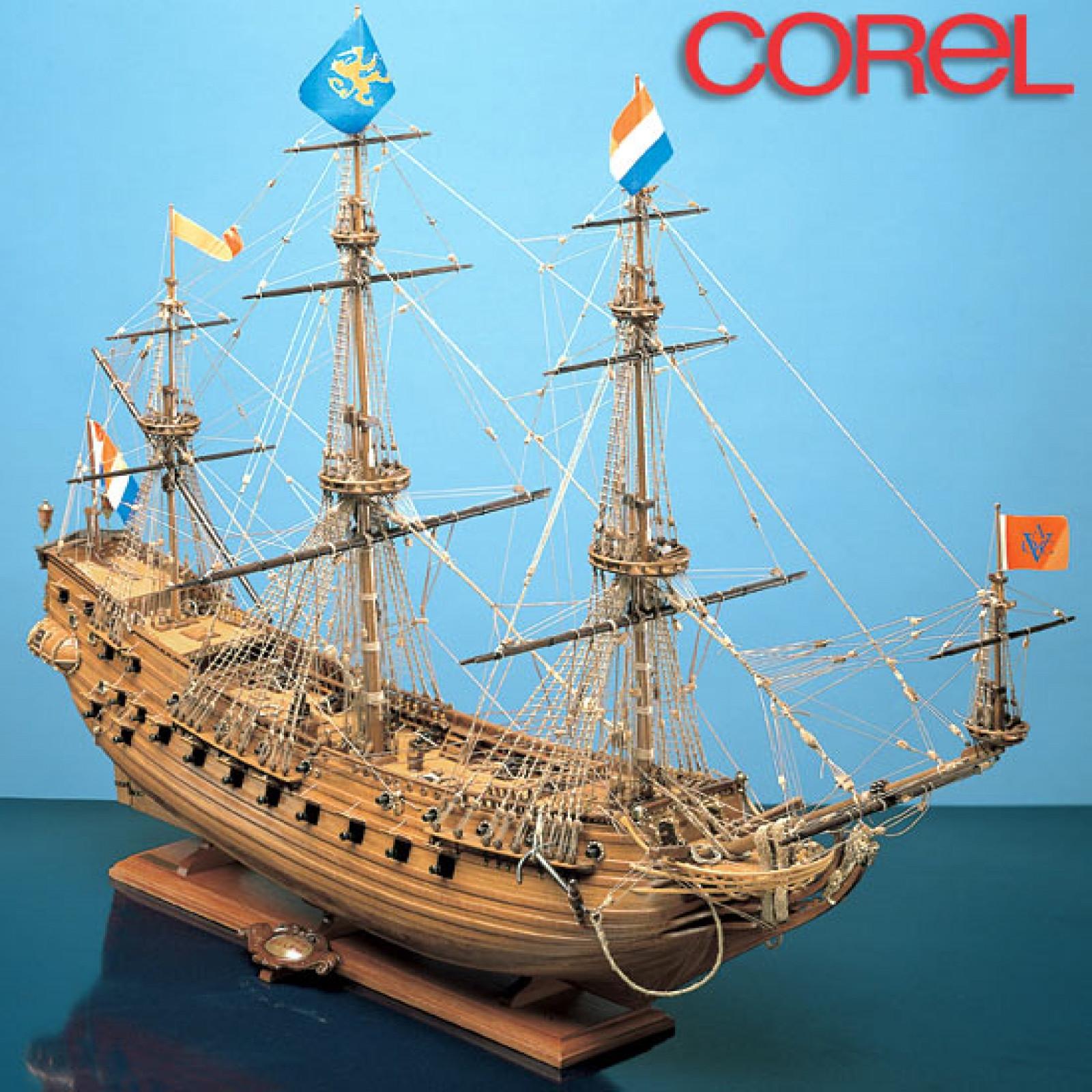 COREL PRINS WILLEM WOOD SHIP KIT 1:100 SCALE