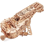 Ugears - Hurdy-Gurdy - Laser Cut Wood - 292 Parts