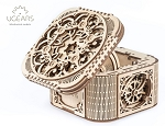 Ugears - Treasure Box - Laser Cut Wood - 354 Parts