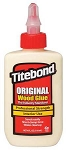 TB5062  4 OZ. BOTTLE OF TITEBOND WOOD GLUE