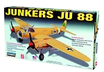 LIN70709 Junkers JU-88 Military Aircraft  -- Plastic Model Airplane Kit -- 1/72 Scale