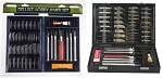 81351HB  51 PC PRECISION HOBBY KNIFE SET
