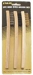 ENK1660-3C  Set of 3 Wire Brushes