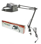 SWING ARM MAGNIFYING LAMP WITH CLAMP - 4