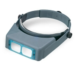 DON-DA4 OptiVisor w/ Precision Ground Glass Lens Plate - Magnifies 2 x 10
