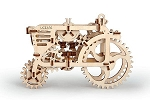 Ugears -  Mechanical Puzzle Tractor - Laser Cut Wood - 97 Parts - Runs on its own!