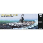 Aircraft Carrier USS Intrepid - Scale 1:350