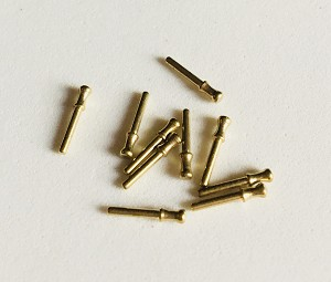"BELAYING PIN, BRASS 5/16""  (8MM) 10/PACK"