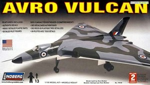 LIN70530  Avro Vulcan Bomber Military Aircraft  -- Plastic Model Airplane Kit -- 1/100 Scale