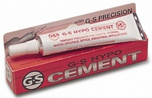 HYPO TUBE JEWELER'S CEMENT