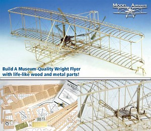 MODEL AIRWAYS WRIGHT FLYER              1:16 SCALE