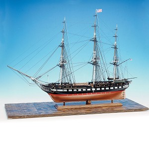 "Model Expo USS CONSTITUTION 48"" LONG 1:76 SCALE"
