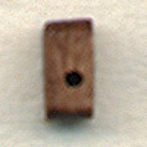 BLOCK,SNGL,WAL,1/4  (7MM) - 150/PACK