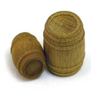 "BARREL, WALNUT 7/16 X 5/16"" (11 X 8MM), 6/PACK"