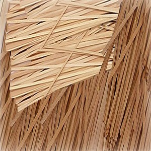"BASSWOOD STRIPS 1/32x1/2x24"" (.8x12.7x610mm) 6/pack"