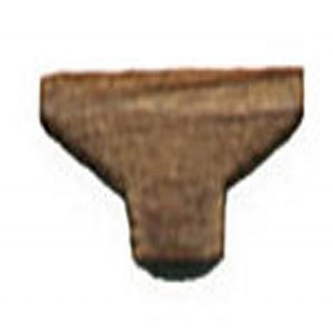 CLEAT, WALNUT 3/8  (12MM) 5/PACK