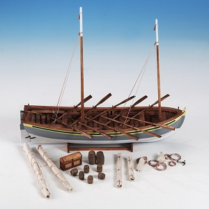Model Expo HMS BOUNTY LAUNCH 1:16 SCALE