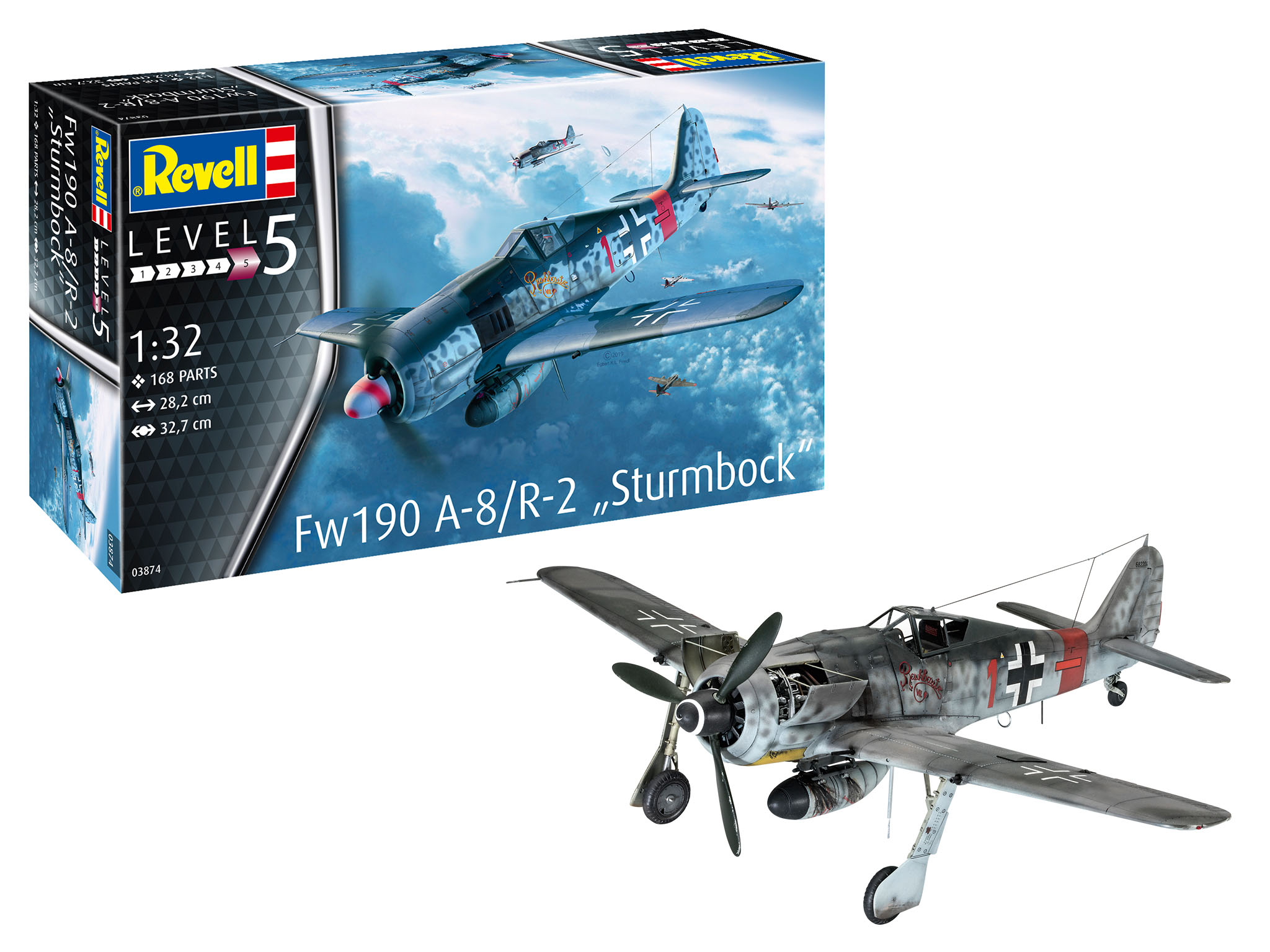 Revell of Germany FW190 A-8/R2 Sturmbock 1:32 Scale