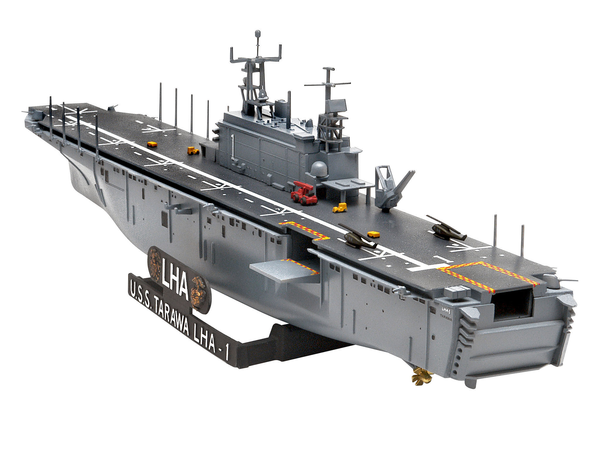 Revell of Germany Assault Ship USS Tarawa LHA-1 1:720 Scale
