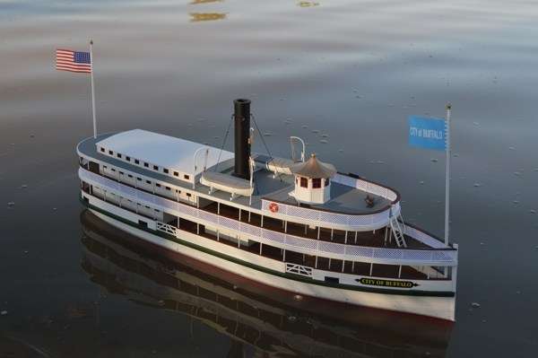 Dumas #1270 The City of Buffalo Lake Ferry 1/48 Scale