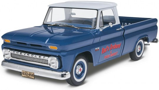 Revell 1966 Chevy Fleetside Pickup 1:25 Scale
