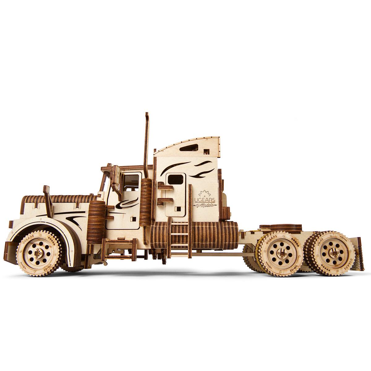 Ugears Heavy Boy Truck Vm 03 Laser Cut Wood 541 Parts