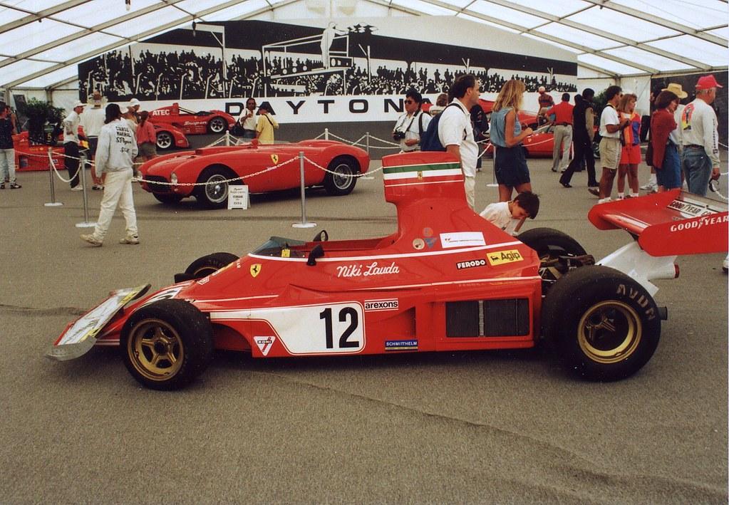 Tameo Tmk372 Ferrari 312b3 1974 White Metal Car Kit