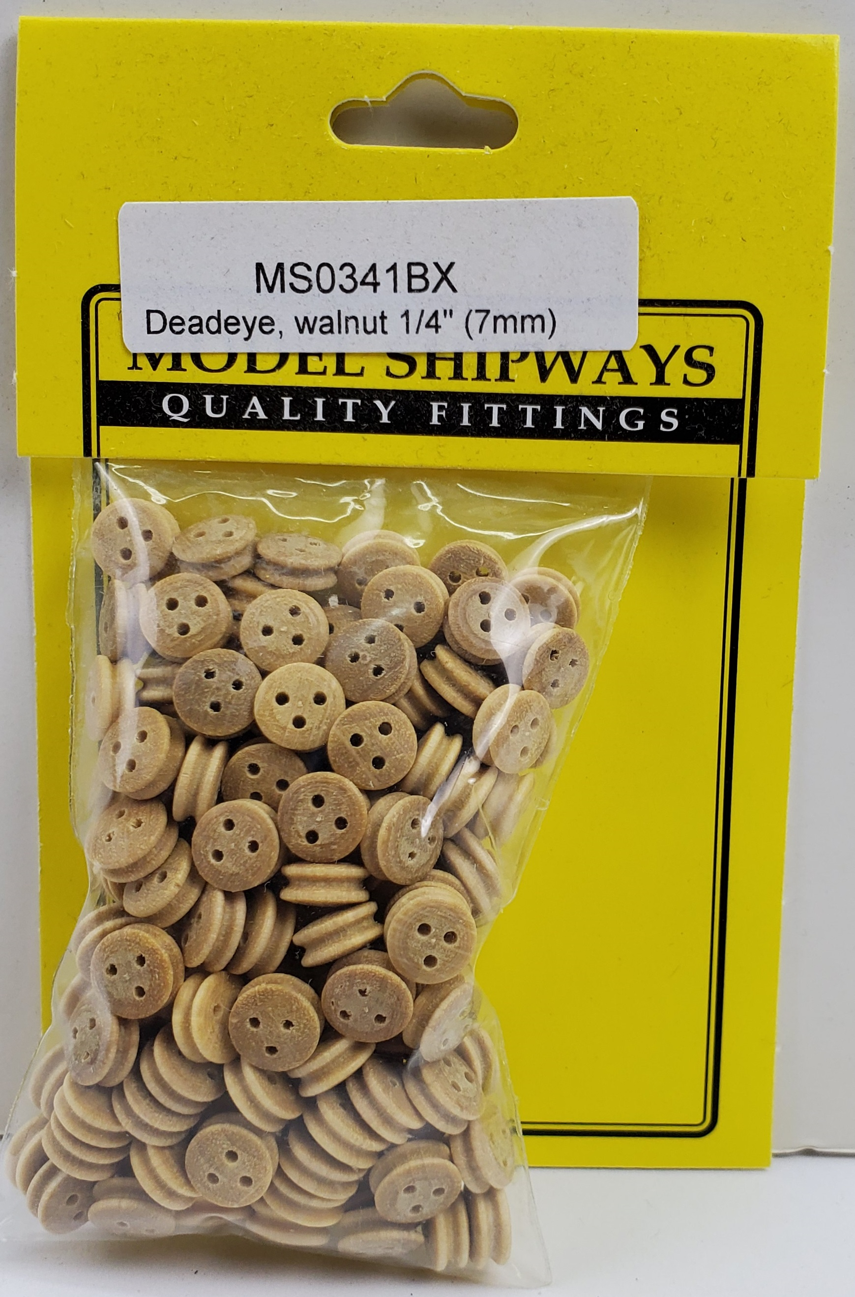 Model Shipways DEADEYES, Boxwood, 9/32
