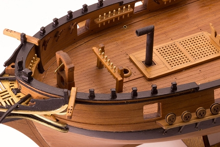 Master Korabel Brigantine Phoenix 1787 Plank On Bulkhead Wood Ship Model Kit