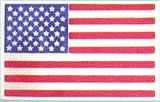 Mantua Model 37444 Cloth U.S. Flag - 50 Stars & 13 Stripes - 20 x 40 MM (0.8 x 1.2