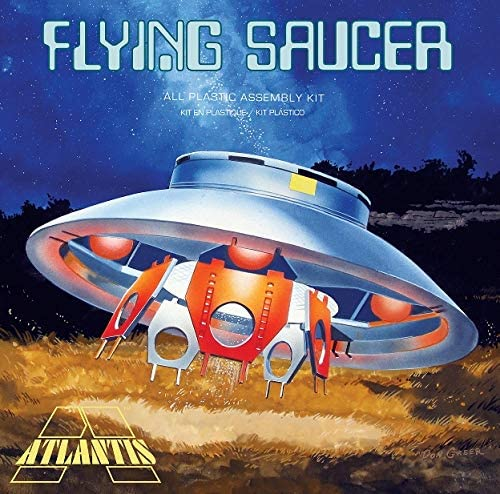 Atlantis Models The Flying Saucer UFO (Invaders) 1/72 Scale