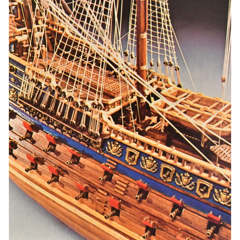 Mantua Model 796 Soleil Royale Scale 1 77 Plank On Bulkhead Wood Ship Model Kit Length 41 1030 Mm