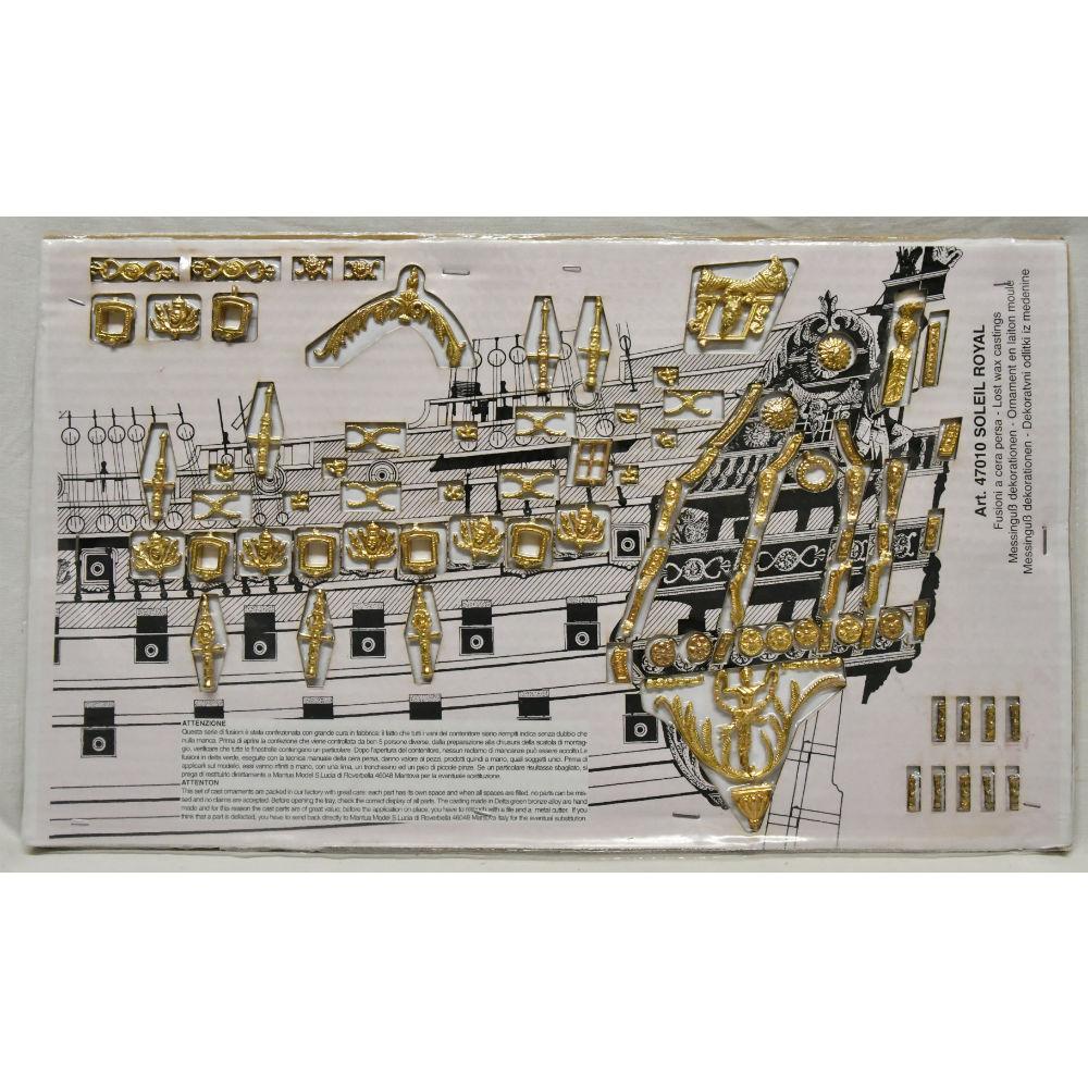 1//77 Mantua Models Soleil Royal 1669 Kit de bateau en bois 796 /échelle