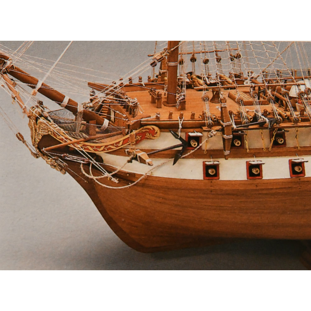 Mantua Model 798 Le Superbe Wood Double Planked On Bulkhead Ship Model Kit Scale 1 75 Length 1100 Mm 44