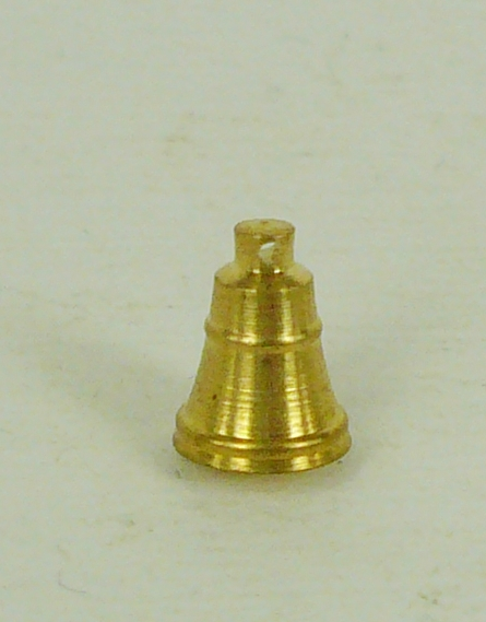 Corel C-75 Corel Brass Bell 6 mm High x 5 mm Dia. 1/pk