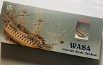 COREL WASA, 17TH C. WARSHIP 1:75 SCALE