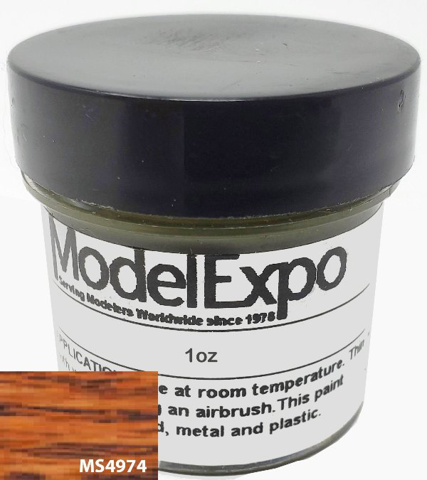 Model Shipways 1 Oz. Vermont Maple - Model Expo Paint - Historic Stains - MS4974