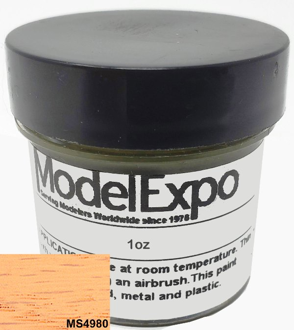 1 Oz. Natural Stain - Model Expo Paint - Historic Stains - MS4980