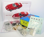 Tameo TMK 002 Ferrari 275 GTB/c Sperimentale 1965 - White Metal Car Kit - Scale 1:43 - Length 4-1/4